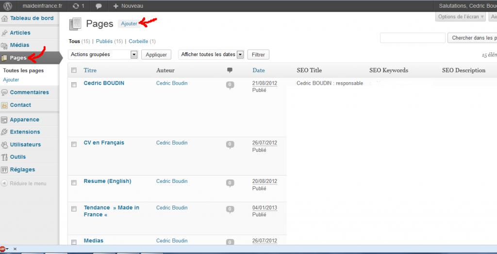 Wordpress-Blog-Cedric-Boudin-Configuration-pour-avoir-blog-sur-sa-propre-page-avec-WP-CMS-nouvelle